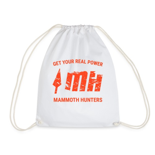 Mammoth Hunters / Naranja - Mochila saco
