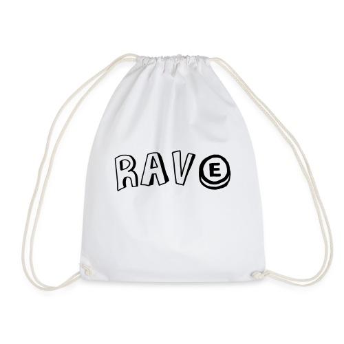 Rave E - Drawstring Bag