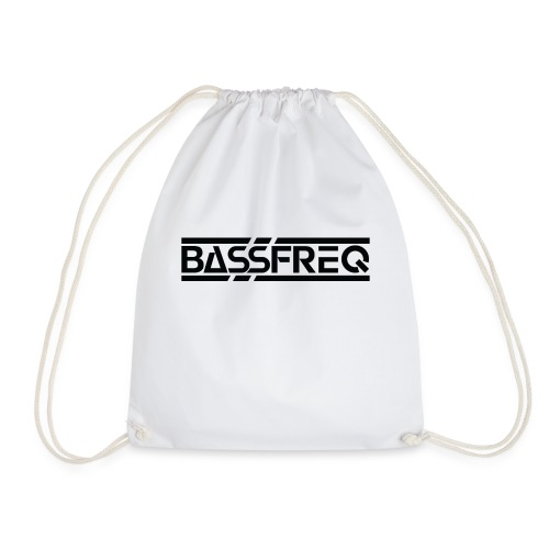 Bassfreq Logo Black - Sac de sport léger