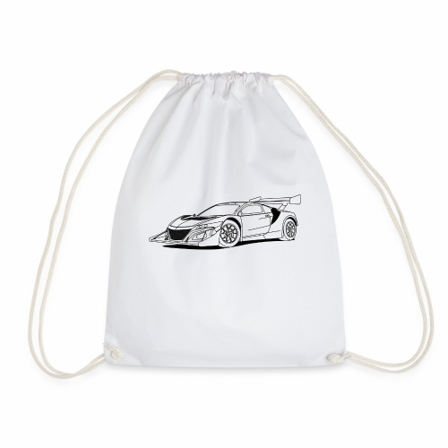 Concept Car White - Drawstring Bag