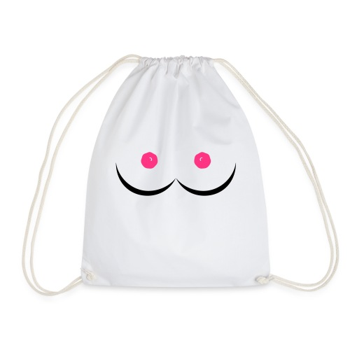 perfect boobs - Drawstring Bag