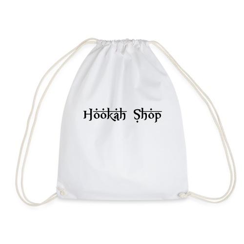 Das Legendäre Hookah Shop Logo in schwarze Schrift - Turnbeutel