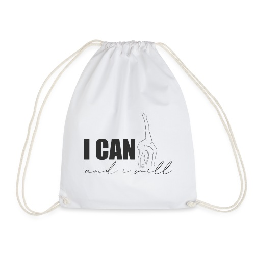 I CAN and i will - Turnbeutel