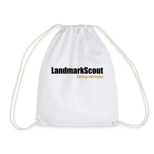 Tshirt Yellow Back logo 2013 png - Drawstring Bag