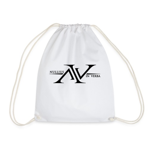 Nullius In Verba Logo - Drawstring Bag
