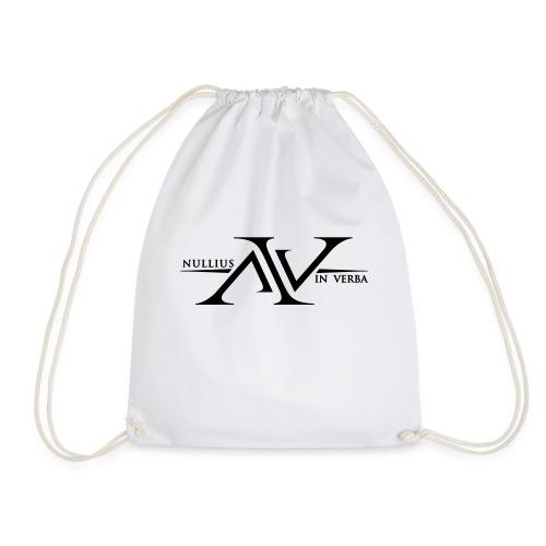 Nullius In Verba Logo - Drawstring Bag
