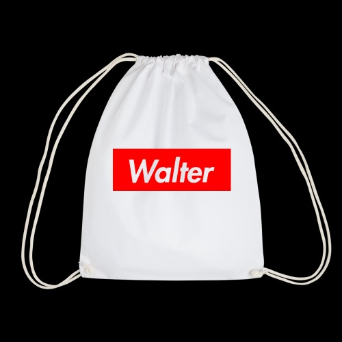 Walter box logo - Drawstring Bag
