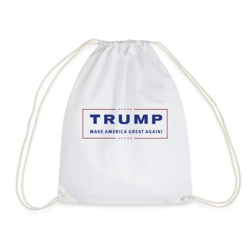 TRUMP Transparent Banner MAGA - Turnbeutel