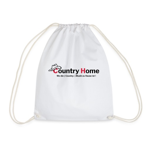 CountryHome Logo mit Slogan (Deutsch) - Turnbeutel