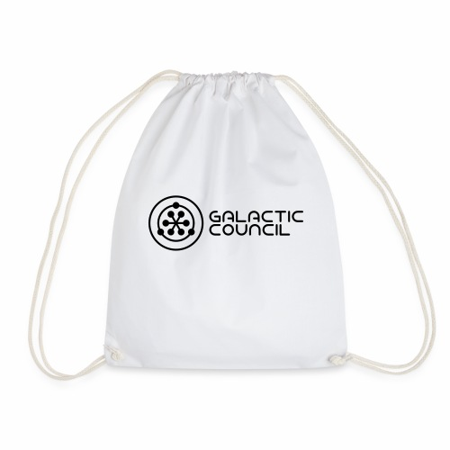 Official Galactic Council branded merchandise - Drawstring Bag