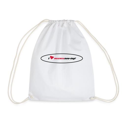 i_love_weeweenooing - Drawstring Bag