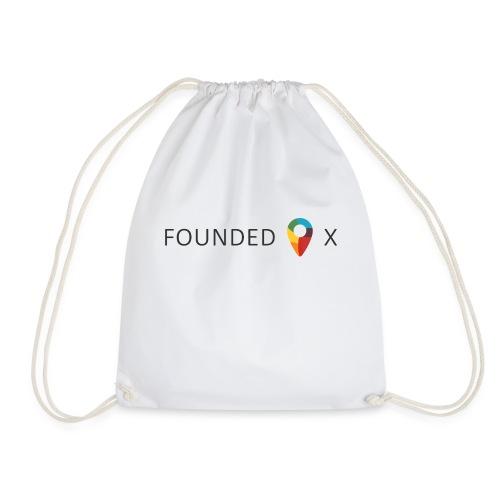 FoundedX logo png - Drawstring Bag