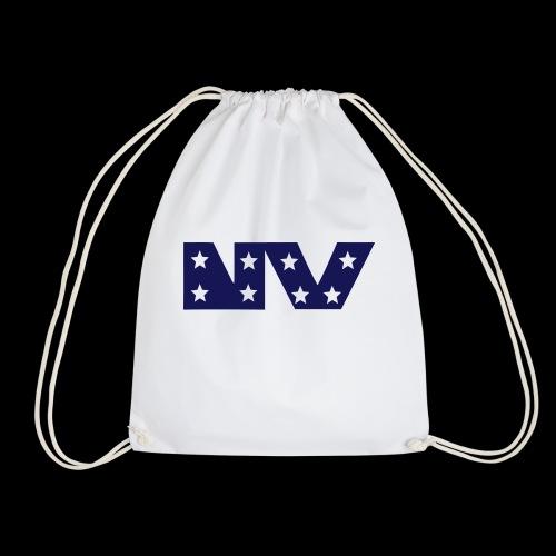 NY S AND S BLUE - Drawstring Bag