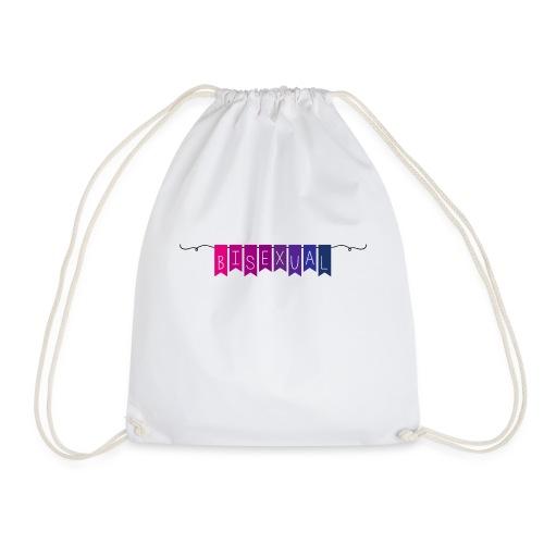 Bisexual Party Flags (B) - Drawstring Bag