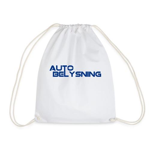 AutoBelysning Blå - Gymbag