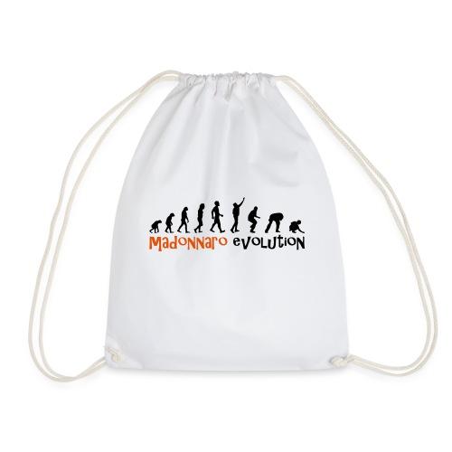 madonnaro evolution original - Drawstring Bag
