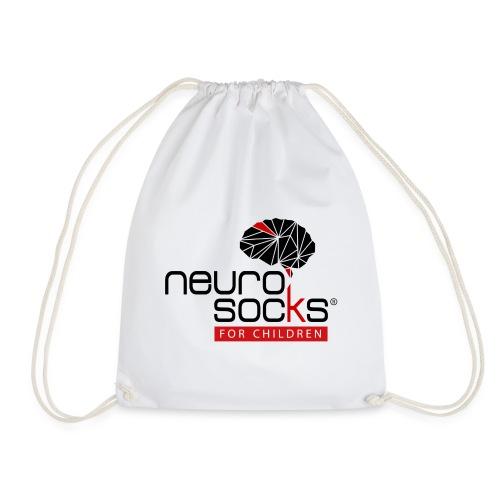 NeuroSocks for Children | Schwarz-Rot - Turnbeutel