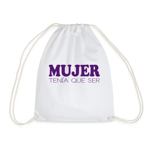 MUJER TENÍA QUE SER - Mochila saco
