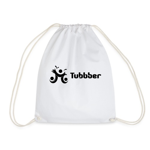 Tubbber B&W - Drawstring Bag