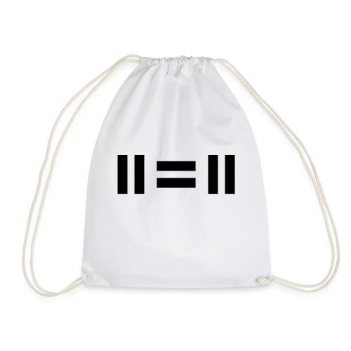 eleven equals eleven - Drawstring Bag