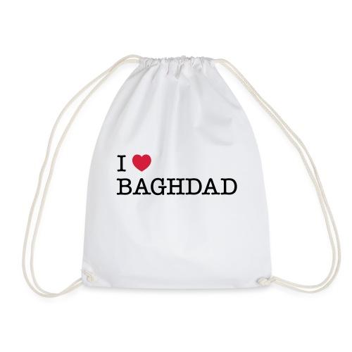 I LOVE BAGHDAD - Drawstring Bag