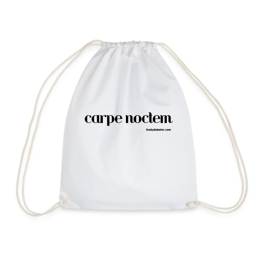 carpe noctem V - Drawstring Bag