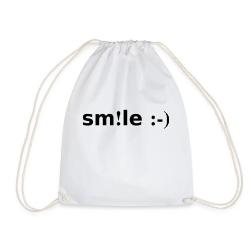 smile - sorridi - Sacca sportiva