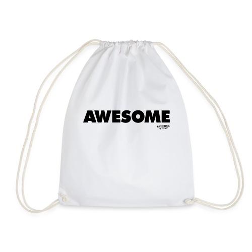 Awesome T-shirt - Drawstring Bag