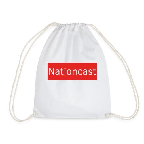 Nationcast Red Banner - Turnbeutel