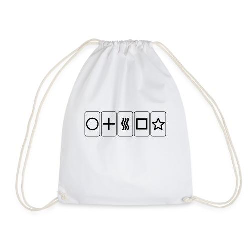 Zener Cards - Drawstring Bag