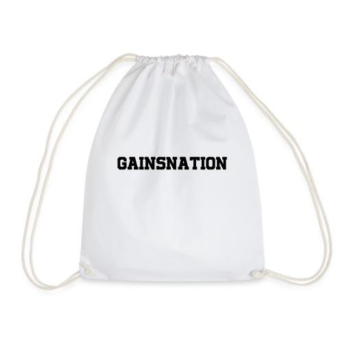 Kortärmad tröja Gainsnation - Gymnastikpåse