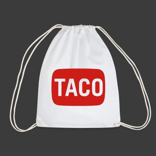 Taco Karsten Youtube Logo 2 - Sportstaske