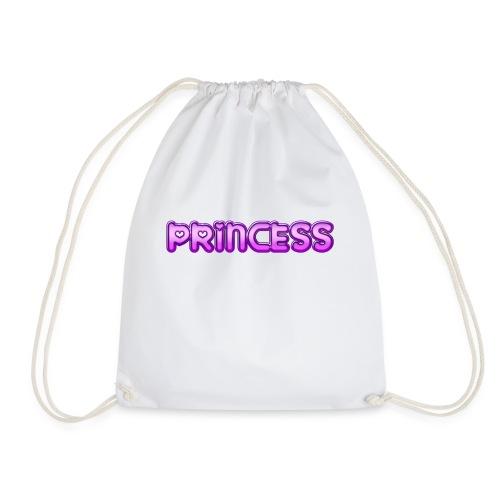 Prinzessin süß niedlich Geschenk Geschenkidee Herz - Turnbeutel