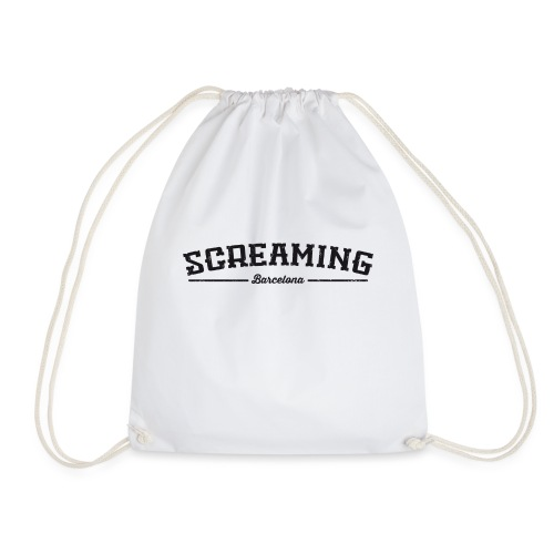 SCREAMING GIRL - Mochila saco