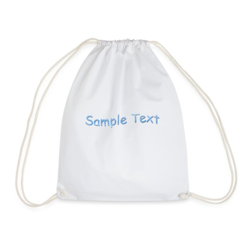 SAMPLE TEXT CAP - Drawstring Bag