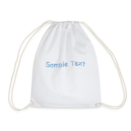 SAMPLE TEXT CAP - Drawstring Bag