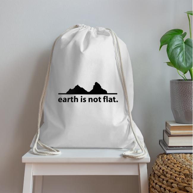 earth is not flat.