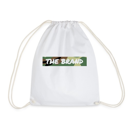 LIMITED EDITION CAMO BOX LOGO - Drawstring Bag