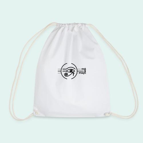 Cut2Vinyl with text - Drawstring Bag