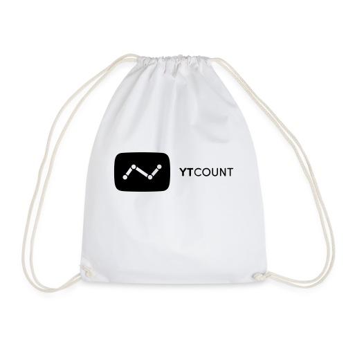 YTCount Logo White - Gymtas