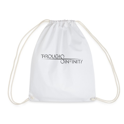 TI Logo Black - Drawstring Bag