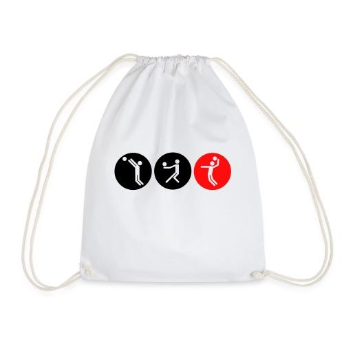 Volleyball symbole bicolor - Turnbeutel
