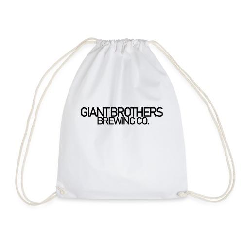 Giant Brothers Brewing co SVART - Gymnastikpåse