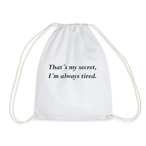 Secret - Turnbeutel