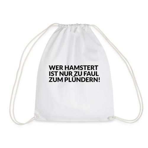HAMSTERN & PLÜNDERN - Turnbeutel