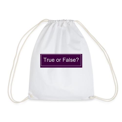 True or False? - Turnbeutel