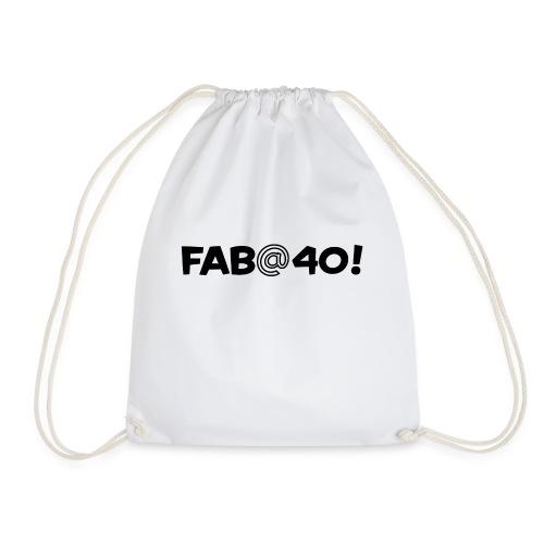 FAB AT 40! - Drawstring Bag