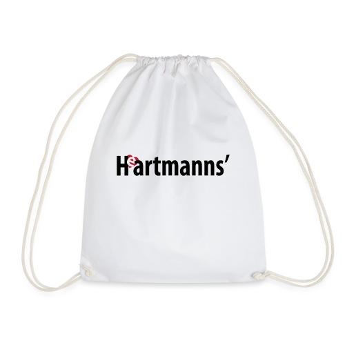 Heartmanns Schriftz. schw - Turnbeutel