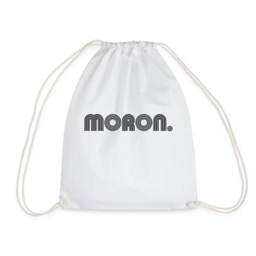 MORON. - retro letters - Gymtas
