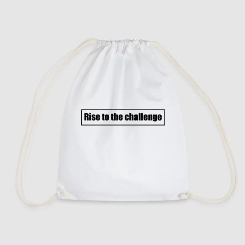 Tee shirt femme Rise to the challenge - Sac de sport léger